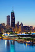 Chicago skyline. — Stock Photo