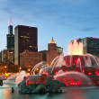 Buckingham Fountain - Stock Photo