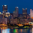 Pittsburgh skyline. — Stock Photo