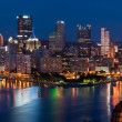 Pittsburgh skyline panorama. — Stock Photo #11224355