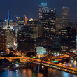 Stock Photo: Pittsburgh skyline.