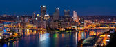 Pittsburgh skyline panorama. — Stock Photo