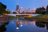 Lincoln Park, Chicago. — Stock Photo