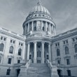 Stock Photo: State capitol building, Madison.