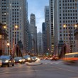 Street of Chicago. — Stock Photo
