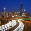 Chicago traffic. — Stock Photo