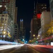 Michigan Avenue in Chicago. - Stock Photo