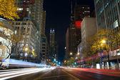 Michigan Avenue in Chicago. — Stock Photo