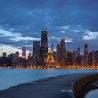 Chicago. — Stockfoto