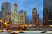 Chicago riverside — Stock Photo