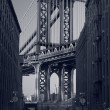 Manhattan Bridge. — Stock Photo
