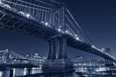 Manhattan Bridge, New York City. — Stock Photo