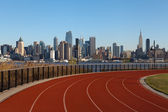 Running Track in New York. — Stock Photo