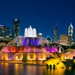 Buckingham Fountain. - Stock Photo