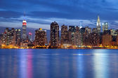 Manhattan Skyline. — Stock Photo