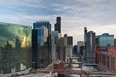 Чикаго. — Стоковое фото