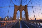 Pont de brooklyn. — Photo