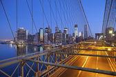 Brooklynský most. — Stock fotografie