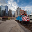 Chicago MetrTrain. — Stock Photo #11625512