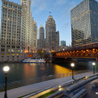 Chicago Riverside. — Foto de Stock