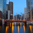 chicago downtown. — Stock Photo