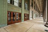 Entrada de estação da união de chicago. — Foto Stock