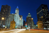 Michigan Avenue in Chicago. — Stock Photo