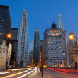 MichigAvenue in Chicago. — Stock Photo #11646493