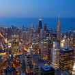 City of Chicago. - Stock fotografie