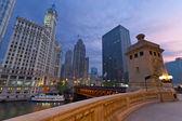 Chicago Sunrise. — Stock Photo