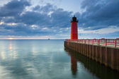 Milwaukee Lighthouse. — 图库照片
