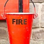 Fire Bucket — Stock Photo
