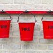 Three Fire Buckets — Stock Photo #11061465