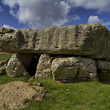 Stock Photo: Lligwy Burial Chamber, Anglesey
