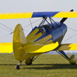 Close up of a colourful Biplane — Stock Photo #11062186