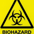 Close up biohazard sign — Stock Photo #11062633