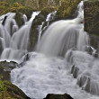 Long exposure, Swallow Falls,Betws-y-coed, Snowdonia, North Wale — Stock Photo #11062755