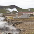 Geothermal Power Station in Iceland — Stock Photo