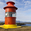 Icelandic lighthouse — Stock Photo