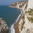 Dorset coastline from Bats Head — Stock Photo