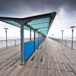 Boscombe Pier on stormy day — Stock Photo #11066482