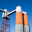 Dockside Silos and Conveyors — Stock Photo