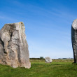 Three Monoliths from Avebury Stone Circle — Stock Photo