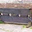 Stock Photo: Old English Stocks