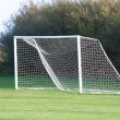 Empty soccer goal — Stock Photo #11067840