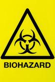 Close up biohazard sign — Stock Photo