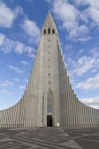 Hallgrimskirkja Church, Reykjavik,Iceland, — Stock Photo