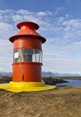 Icelandic lighthouse — Stock Photo