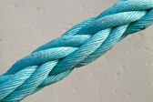 Close up of a mooring rope — Stock Photo