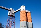 Dockside Silos and Conveyors — Stock Photo